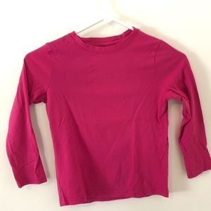 Primary kids pink long sleeved shirt. Size6/7